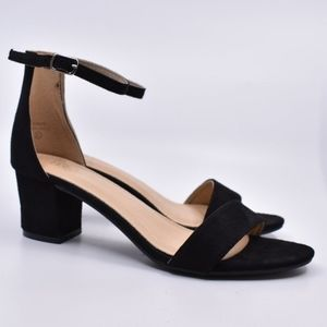 SOLD ON FB! NEW Black Heels Size 8.5